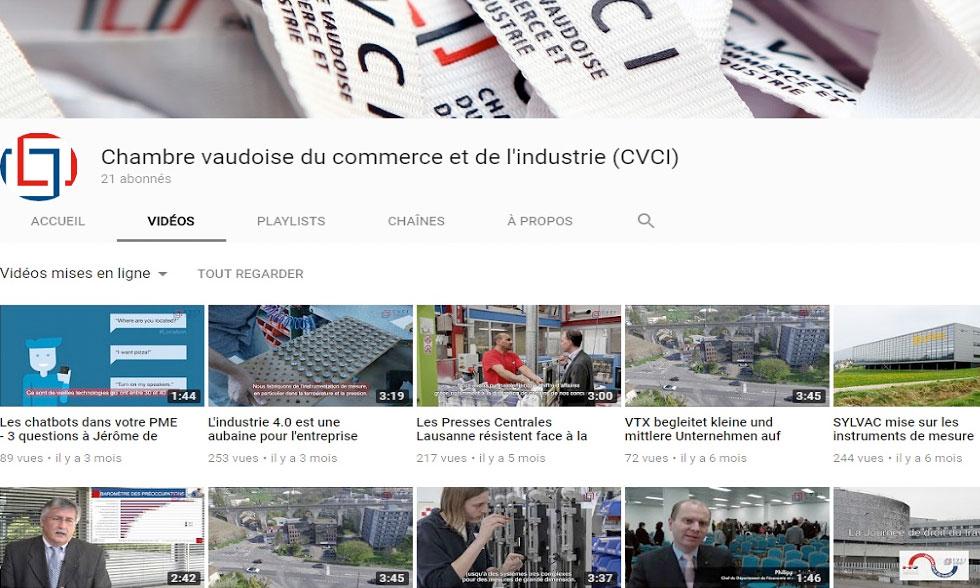 La Chaîne youtube de la CVCI