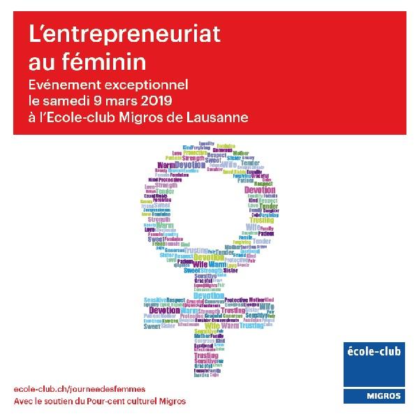 Evénement membre – L'entrepreneuriat au féminin