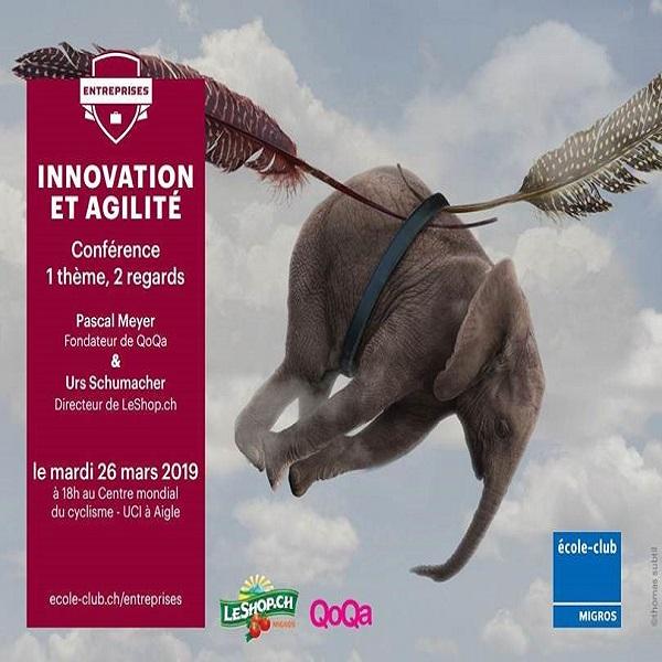 Evénement membre – Conférence Innovation et agilité